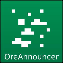 OreAnnouncer Logo